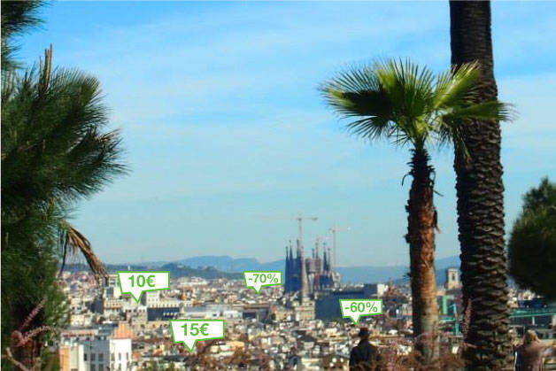 Réductions de groupon à barcelone
