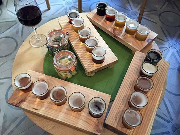 the-growler sets degustation de bière