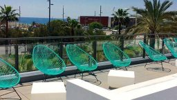 barcelo atenea mar terrasse au soleil