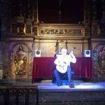 spectacles à barcelone: guitare à la basilique del pí