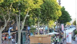 Tast a la Rambla à Barcelone