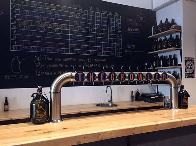 the-growler-biere-artisanale comptoir