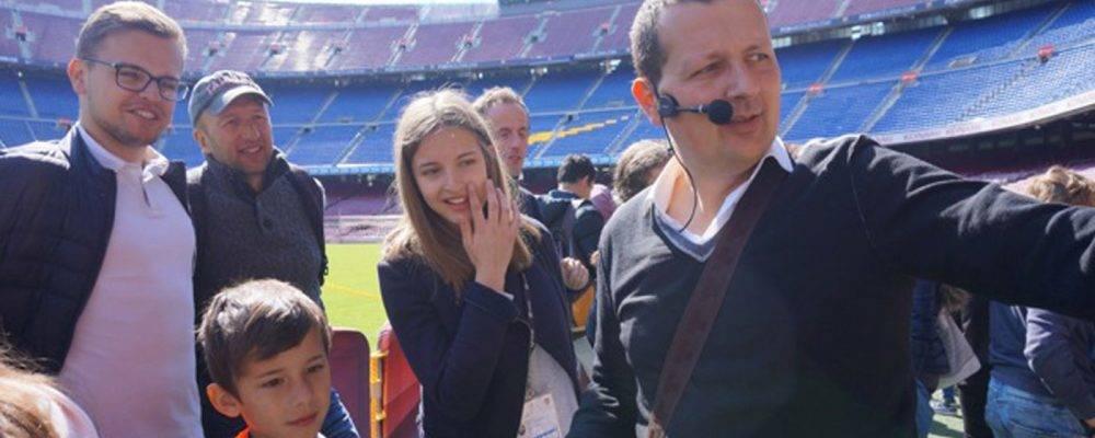 Visite du Camp Nou autrement: faites-vous guider par un expert!
