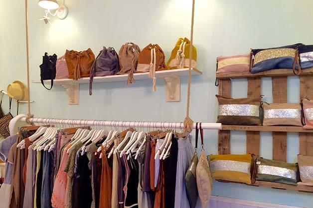 Claudine intérieur boutique