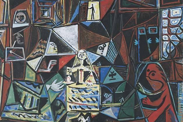 tableau les menines, musée Picasso