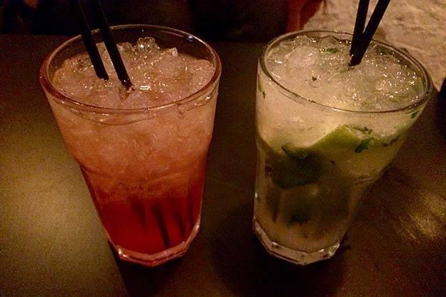 Le Standard cocktails