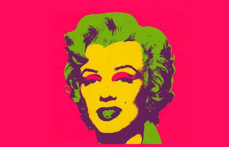 warhol portrait Marylin Monroe