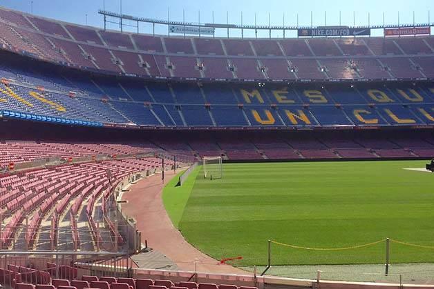 Camp Nou Barca Card