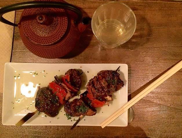 koku kitchen brochettes de poulet