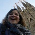 un jour à Barcelone avec Marine baousson, Sagrada Familia