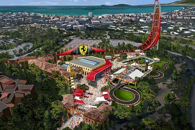 Ferrari Land: le nouveau parc de Port Aventura