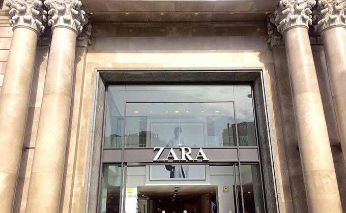 Zara à Barcelone