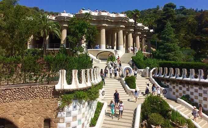 Visites guidées du parc Güell: entrée