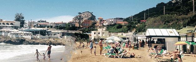 plages autour de Barcelone: Garraf