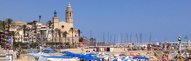 plages autour de Barcelone: Sitges