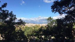 panorama depuis montjuic