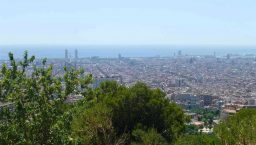 Barcelone en groupe vue