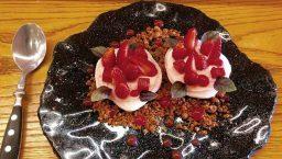 La mundana dessert à la fraise