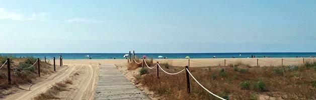 plages autour de Barcelone Plage de castelldefels