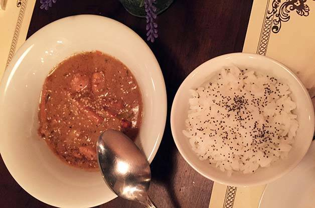 the sopa boba: poulet thai