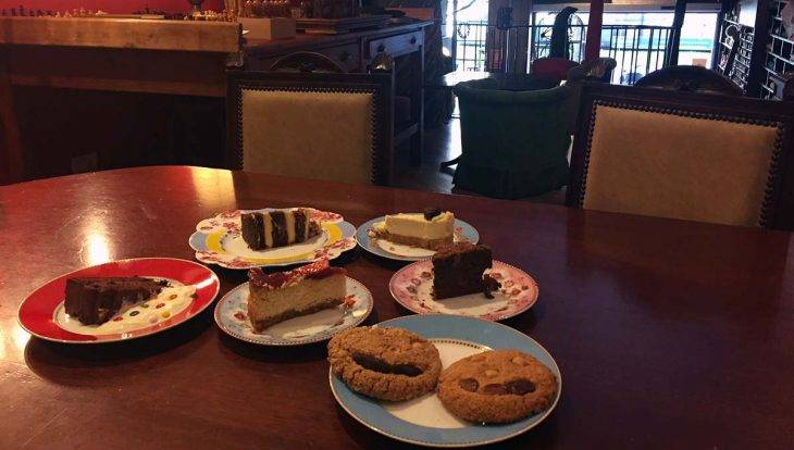 café Harry Potter gâteaux offerts