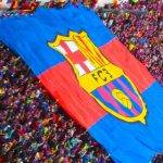 Calendrier du FC Barcelone drapeau Camp Nou