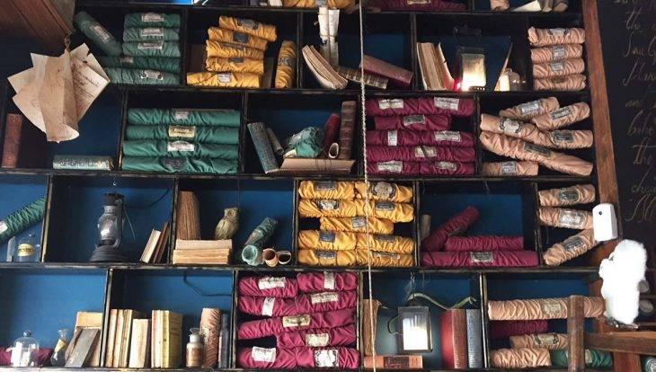baguettes magiques du café Harry Potter
