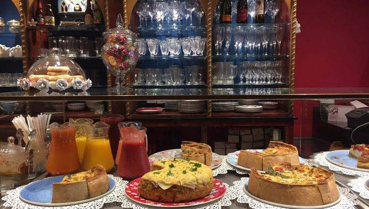 quiches du café harry Potter