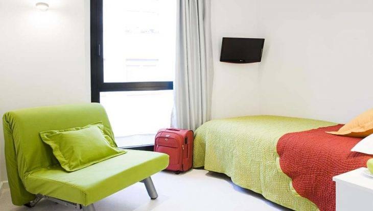 Live and Dream: chambre verte