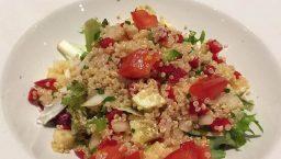 cuisine végane: salade de couscous du Trencadís