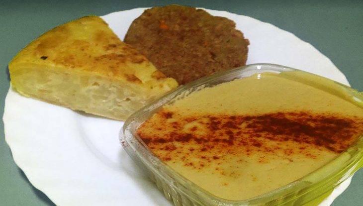 cuisine végane: houmous et tortilla du VegetArt