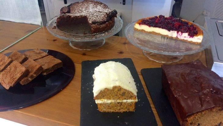 The SweetOphelia Café desserts maison