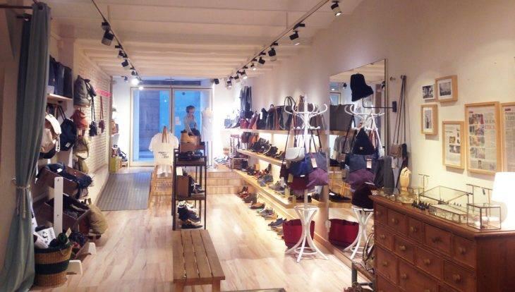 amapola vegan shop intérieur de la boutique