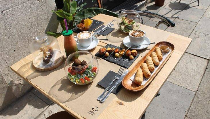 Carite: brunch et salades