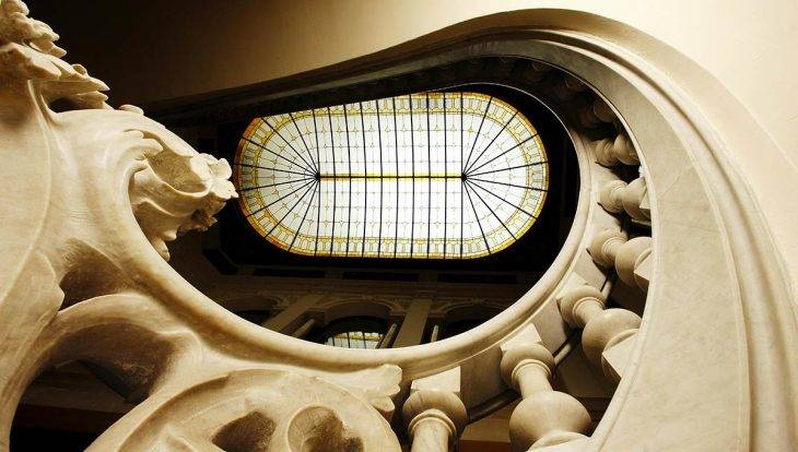fondation Mapfre escalier