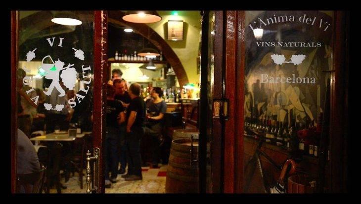 Bar à vin: Anima del Vi extérieur