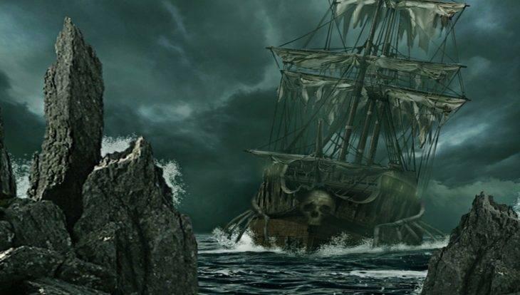 Soirée Halloween sur un bateau