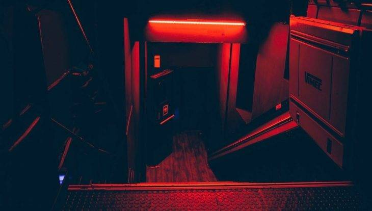 Entrée The Red58 club électro