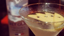 cacktails du carite: appletini sur la photo