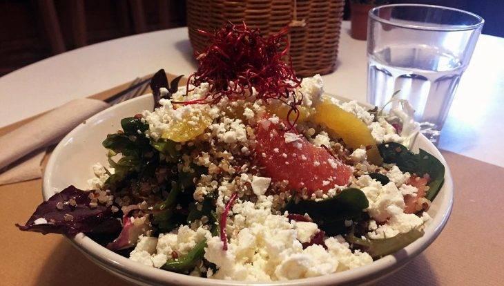 mostassa salade au quinoa