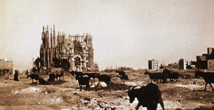 sagrada Familia histoire vers 1910