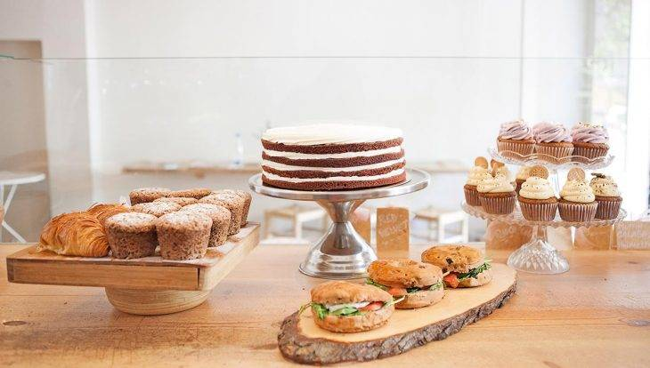 café cup&cake sandwichs et cup cakes