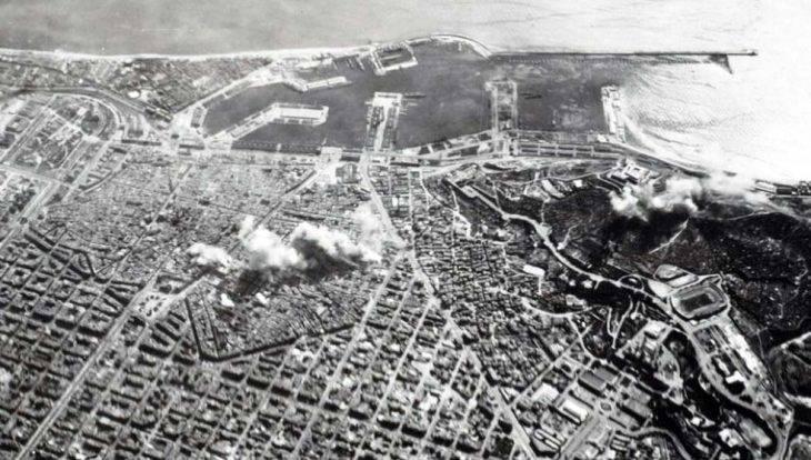 barcelone-bombardements guerre civile