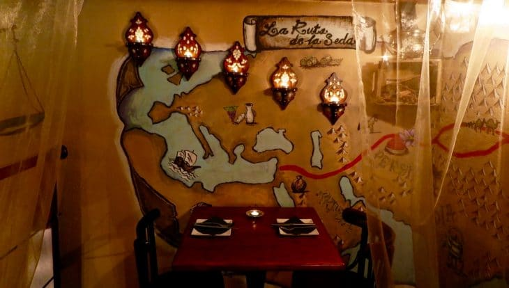 Ziryab- restaurant romantique