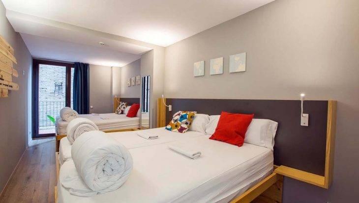 yeah hostel: chambre privative de 4