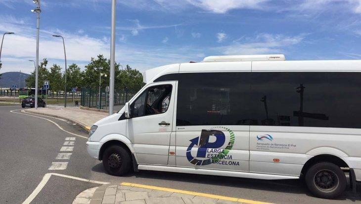 navette parking longue durée de l'aéroport de Barcelone