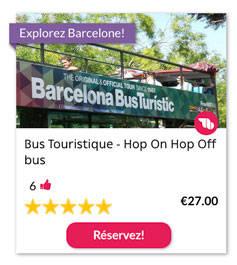 Bus Touristique - Hop On Hop Off bus