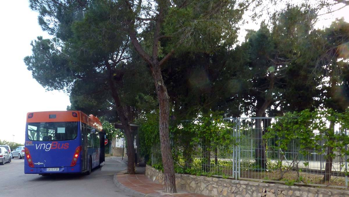 camping barcelone bus vers centre de barcelone