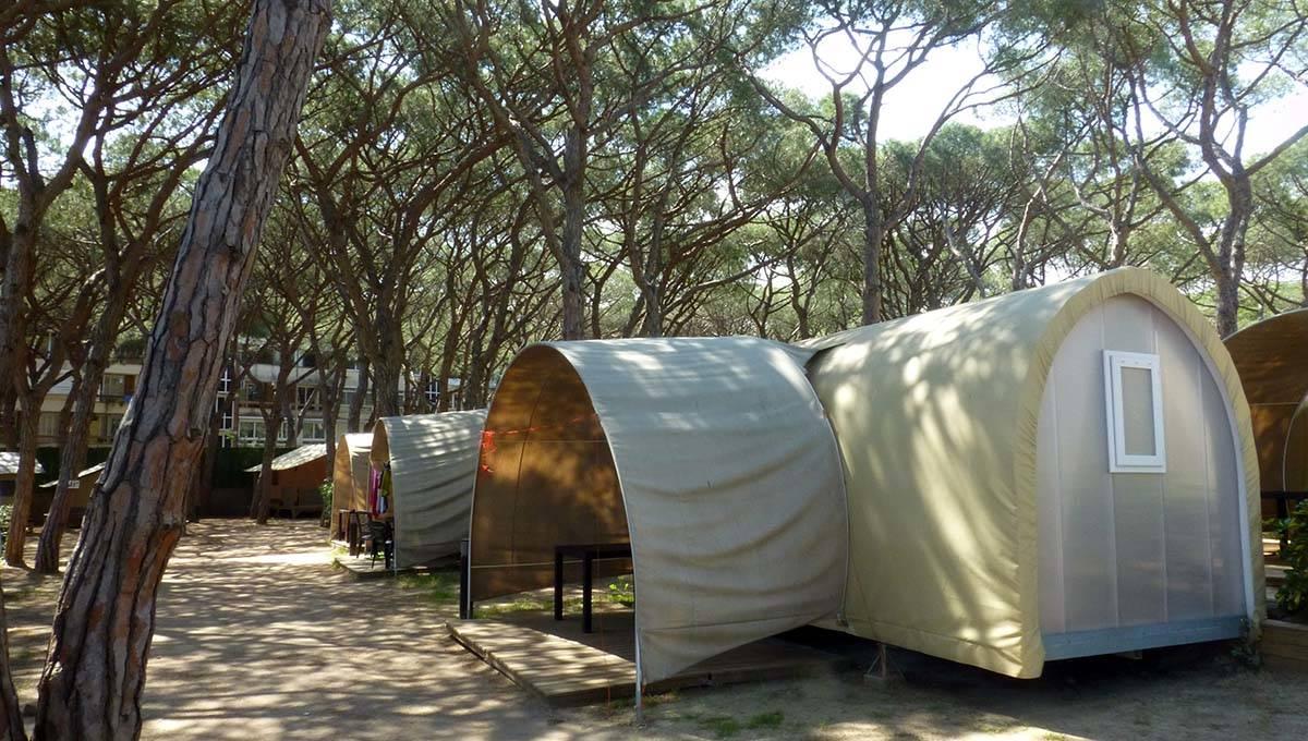 Camping Barcelone Gava: tentes