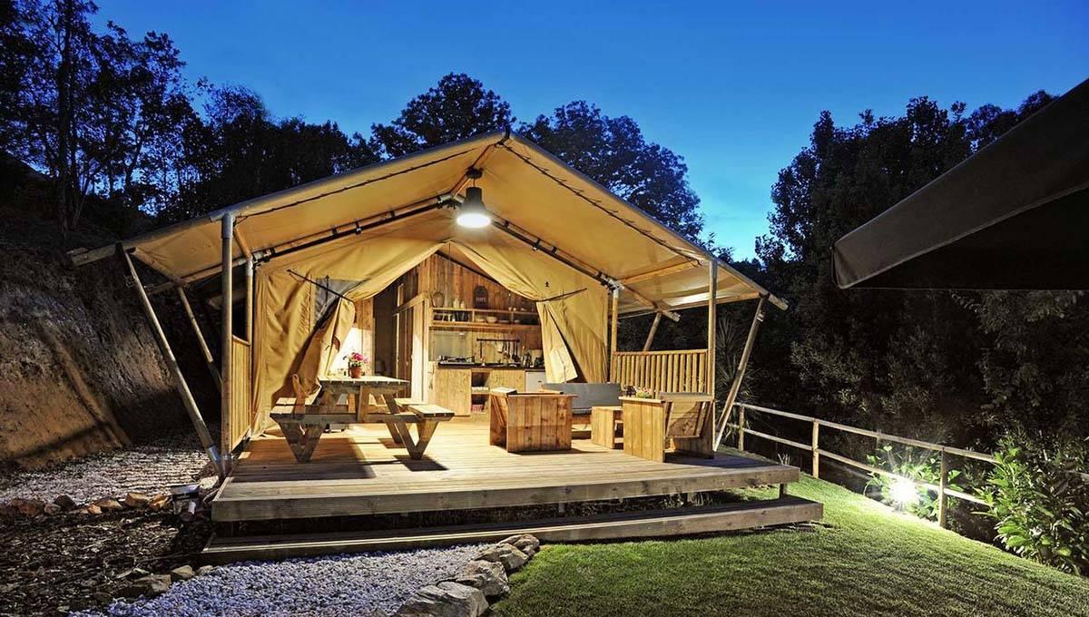 camping barcelone tente vilanova park